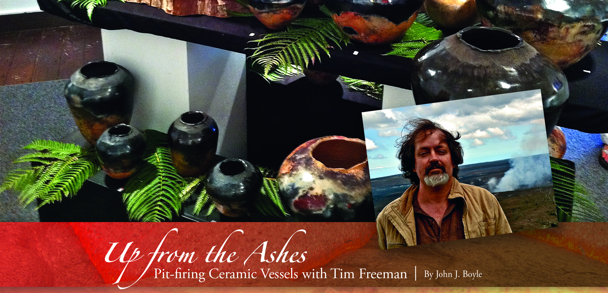 Tim Freeman Pit-Fired Ceramics - pgA