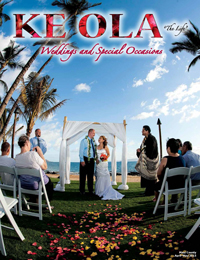 Apr–May 2015 cover Maui Count wedding