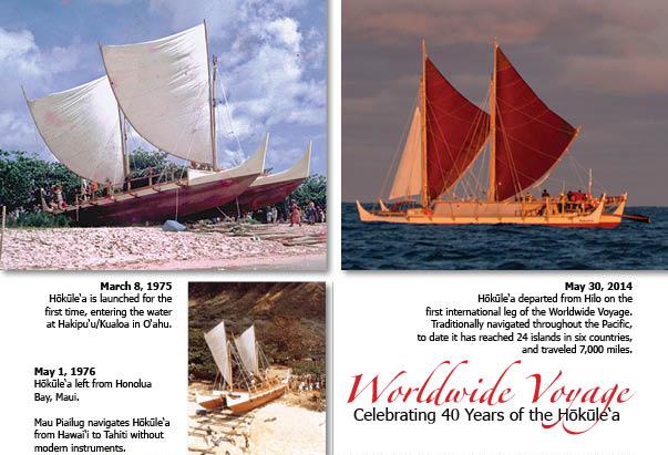 WWV 40 years of Hōkūle'a