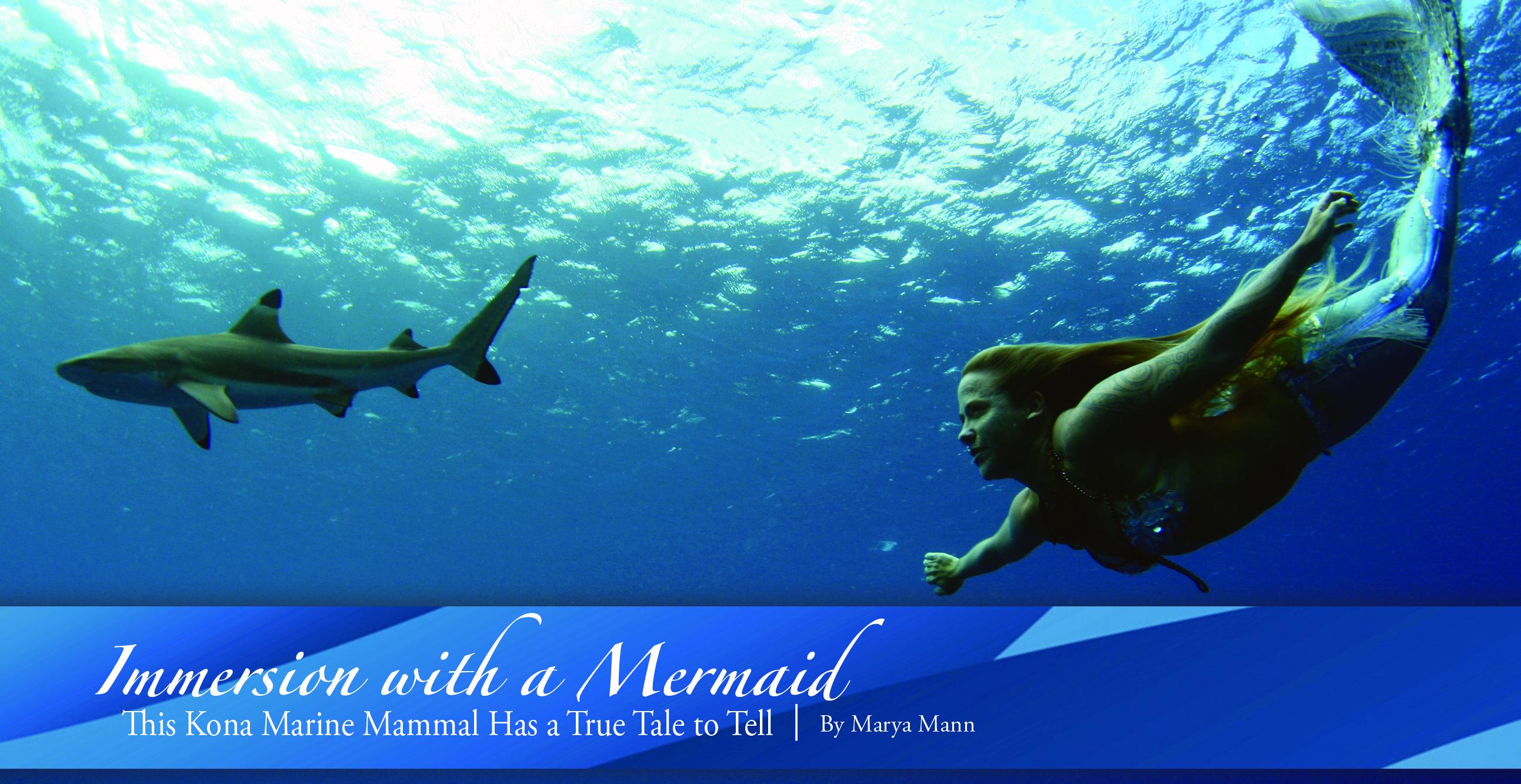 immersion with a mermaid ke ola magazine