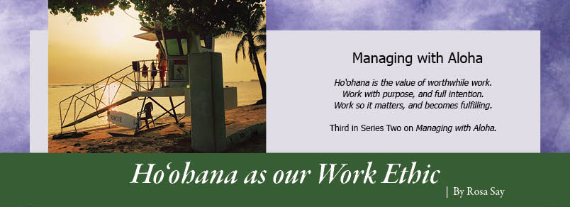 managing with aloha bringing hawaiis universal values to the art of business