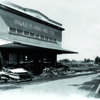 HPM on Hilo Bayfront destroyed by 1946 Tsunami