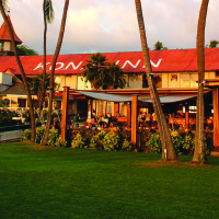 Today's Kona Inn, still a favorite spot to enjoy the sunset.