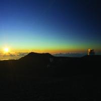 Mauna Kea sunset. Photo courtesy Big Island Visitors Bureau.