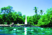 Captain Cook Monument at Ka'awaloa – Big Island Visitors Bureau