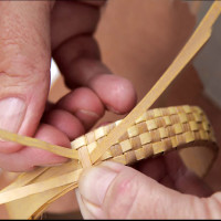 The correct term for the lauhala craft is not weaving but plaiting or ulana.
