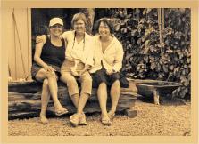 Kenji's House founders, from left to right: Rosaline Maxx, Catherine Morgan, Malia Welch.