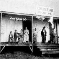 The original Kimura Store, circa 1907.