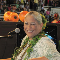 Radio and events personality Skylark (Jacqueline Leilani Rossetti) announced for the Merrie Monarch Festival for more than 30 years.