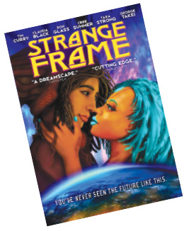 Strange Frame : Love and Sax, 2012 animated science fiction feature film.