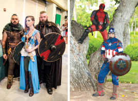 Cosplayers HawaiiCon 2016. photos courtesy of Peter Chiapperino