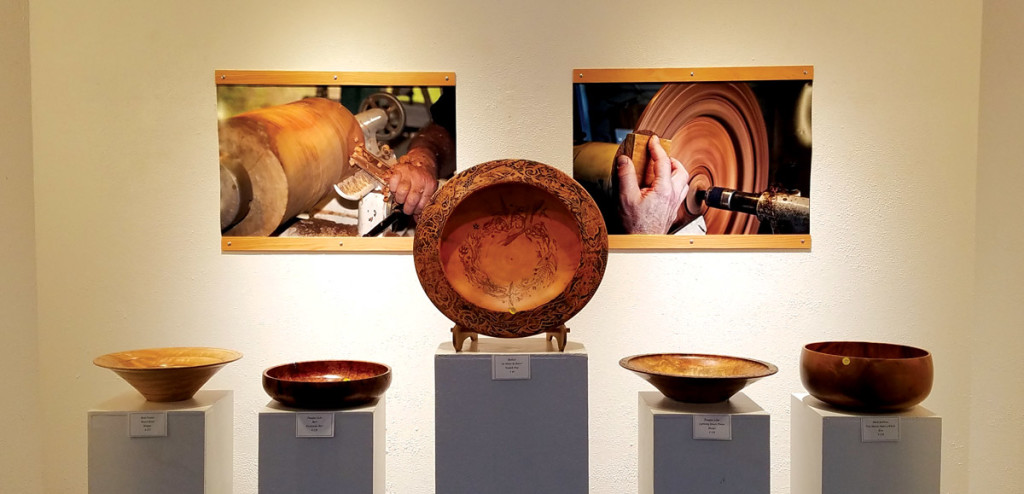 2017 Big Island Woodturners Exhibit.