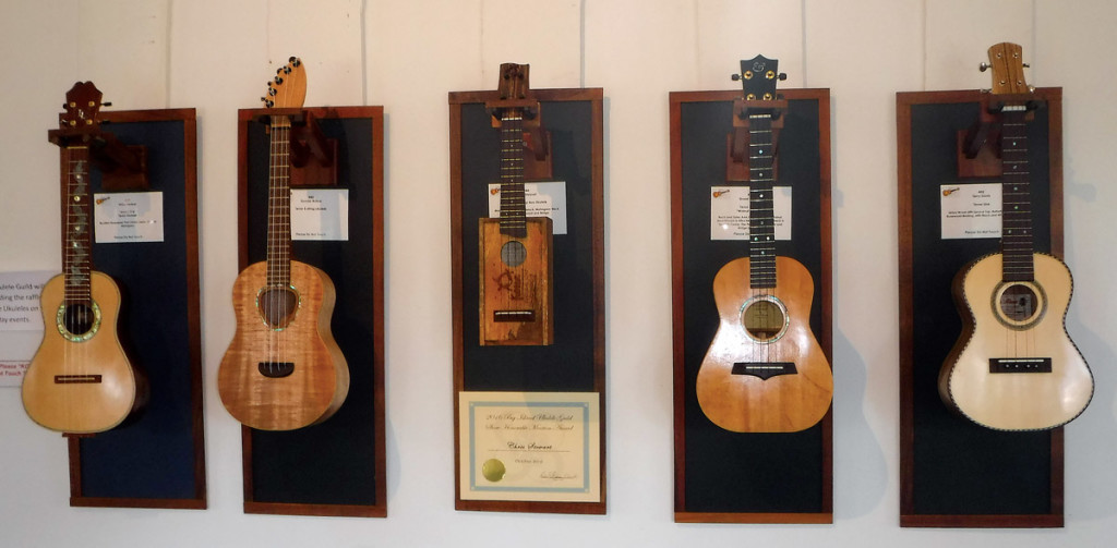 2016 Big Island Ukulele Guild's Annual Stringed Instrument Exhibit.