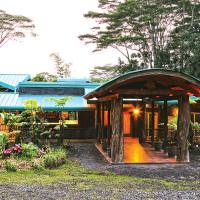 Hawaiian Sanctuary main lodge and meeting area. photo courtesy of Hawaiian Sanctuary