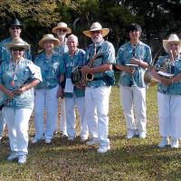 Band members at 2013 Honoka'a Western Days. photo courtesy of Hawai'i County Band
