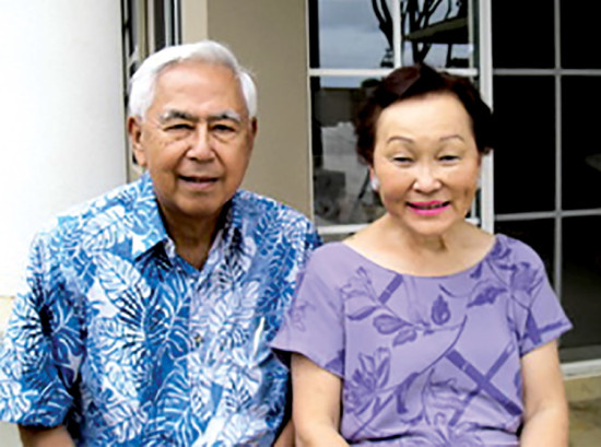 Herbert and Mary Matayoshi 2005. To this day, Herbert Matayoshi has the longest continuous tenure of any elected mayor in Hawai'i County.