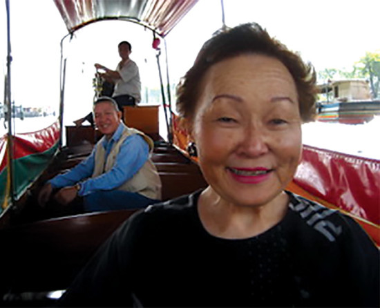 Mary traveled extensively throughout southeast Asia as part of her work developing educational programs for the Peace Corps.