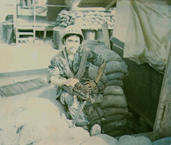 Clarence volunteered for the Army at age 17 and served in Vietnam.