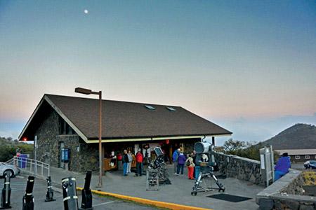 Maunakea Visitor Information Station. photo courtesy of ifa.hawaii.edu