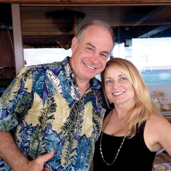 One of VASH's founders is Hawai'i County Prosecutor Mitch Roth, pictured here with VASH executive director Karen Rose. photo courtesy of VASH