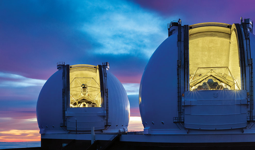 W M Keck Observatory Seeking Answers To The Greatest Questions